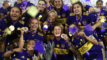 Boca Juniors are Argentina's first professional women's champions