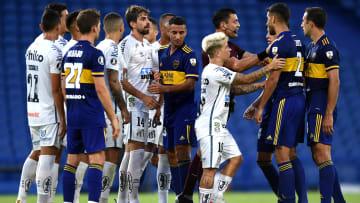 Boca se comunicó con Conmebol para solicitar explicaciones y pedir los puntos del partido.