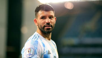 Sergio Aguero is yet to feature for Argentina