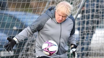 Boris Johnson Campaigns In The North West Of England