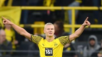 Erling Haaland avec le Borussia Dortmund cette saison en Bundesliga
