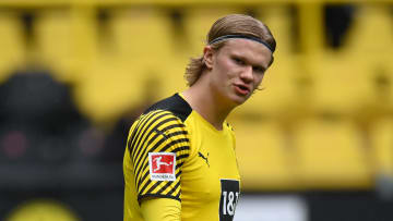 Haaland has been heavily linked with a Premier League switch