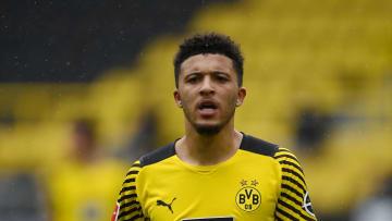 L'international anglais du Borussia Dortmund, Jadon Sancho