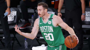 Gordon Hayward, Boston Celtics v Miami Heat - Game Three