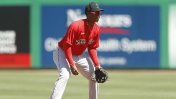 Jeter Downs isn't included in the Red Sox's player pool this season.