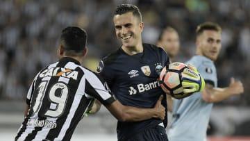 Grohe fechou o gol na campanha da Libertadores de 2017