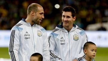 Lionel Messi, Pablo Zabaleta