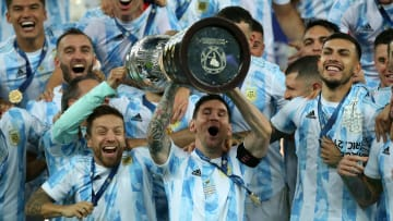 Messi was inspirational throughout Argentina's journey to Copa America glory