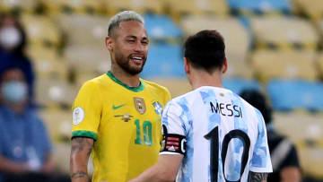 No te agrandes, Ney, el campeón de América es Lionel.