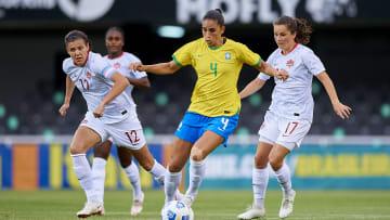 Brasil e Canadá sempre protagonizam jogos duros