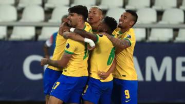 La festa del Brasile contro il Cile