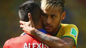 Neymar y Alexis, los más caros de sus países