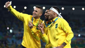 Ao lado de Neymar, Luan e Gabigol foram destaques do Brasil nas Olímpiadas do Rio de Janeiro.