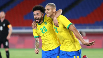 Brazil put out a marker against Germany on day of the men's Olympic football tournament
