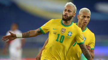 Seleção Brasileira e Neymar estão voando nesta Copa América.