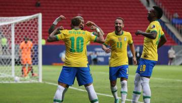 Brasil menang 3-0 atas Venezuela di laga perdana babak fase grup
