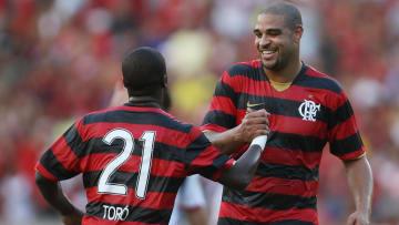 Adriano Imperador conquistou o Brasileirão pelo Flamengo