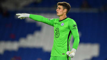 The Chelsea goalkeeper was at fault for Brighton's goal