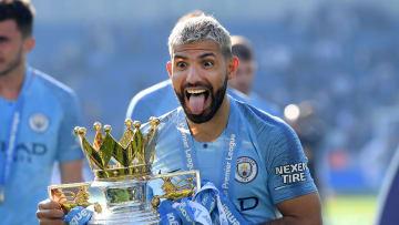 Sergio Aguero looks set to add a fifth Premier League title to his impressive CV