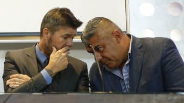 Tineli y Tapia, los dirigentes con más poder de la AFA