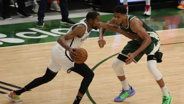 Kevin Durant vs. Giannis Antetokounmpo