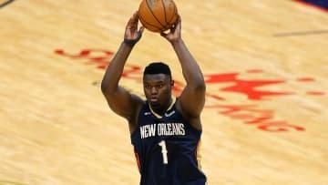 Zion Williamson está disputando su segunda campaña con New Orleans Pelicans
