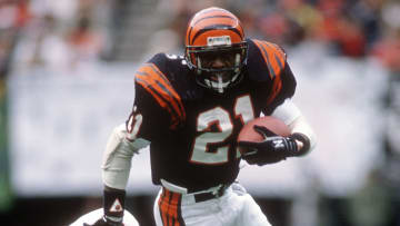 James Brooks played RB for the San Diego Chargers, Cincinnati Bengals, Cleveland Browns and Tampa Bay Buccaneers in the NFL from 1981-82.