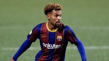 Konrad De La Fuente mad his Barcelona debut on Tuesday night
