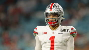 Justin Fields is currently No. 2 on the Bears QB depth chart.