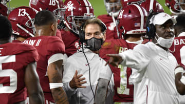 Alabama isn't the outright favorite in the SEC.