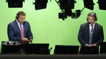 Kirk Erbstreit and Chris Fowler