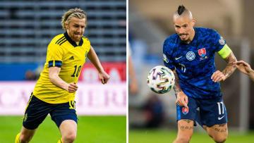 Suécia e Eslováquia se enfrentam nesta manhã de sexta