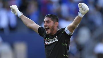 El capitán Jesús Corona volvió a la titularidad con Cruz Azul frente al Puebla y terminó convertido en el Jugador del Partido.