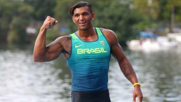 Isaquias Queiroz é atleta do Flamengo.