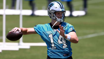 Carolina Panthers running back Christian McCaffrey has been heaping praise onto quarterback Sam Darnold.