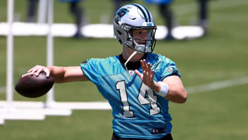 Carolina Panthers wideout Robby Anderson has nothing but good things to say about Sam Darnold's early progress in Carolina.