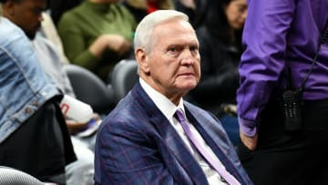 Jerry West, Celebrities At The Los Angeles Clippers Game
