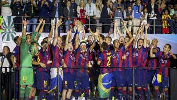El Barcelona ganó su última Champions en 2015