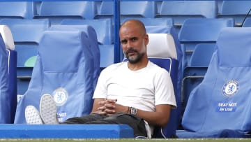 Pep Guardiola could have been sitting in the home dugout at Stamford Bridge