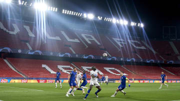 Chelsea lost 1-0 in Seville in front of swathes of empty seats