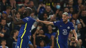 Romelu Lukaku, Jorginho avec Chelsea contre le Zénith cette saison