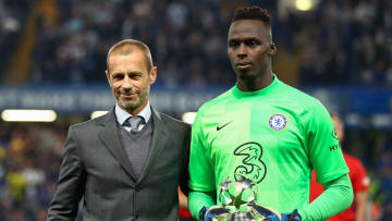 Edouard Mendy has recorded the most clean sheets for a goalkeeper in 2021
