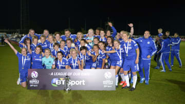 Chelsea have been crowed WSL champions more than any other team