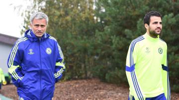 Cesc Fabregas, Jose Mourinho