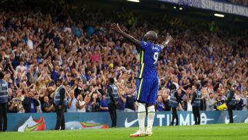 Lukaku celebrates his second