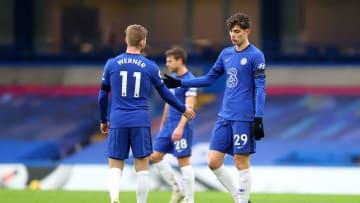 Chelsea-Coach Thomas Tuchel war mit Werner und Havertz nicht sonderlich glücklich