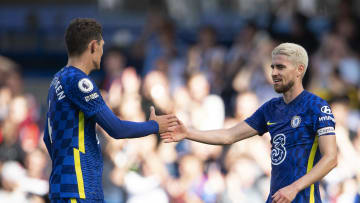 Andreas Christensen, Jorginho, Chelsea vs Crystal Palace - Premier League