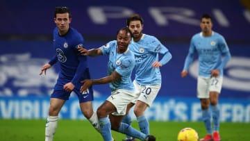 Chelsea e Manchester City se enfrentam pela Copa da Inglaterra. O XI ideal da equipe terá craques como Ederson, De Bruyne, Thiago Silva e mais.