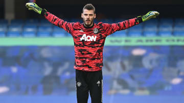David de Gea was absent for the Crystal Palace draw
