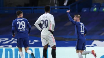 Timo Werner and Kai Havertz combined to open the scoring